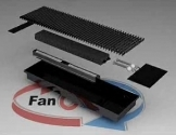 Конвектор FanCOil (фанкойл) FCF 09 mini