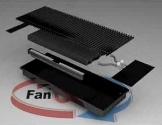 Конвектор FanCOil (фанкойл) FCF 09 Plus