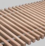 Решетка деревянная для конвектора FanCOil (фанкойл) 380мм