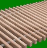 Решетка деревянная для конвектора FanCOil (фанкойл) 170мм