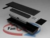 Конвектор FanCOil (фанкойл) FCF 12 mini