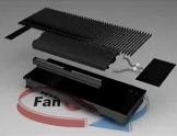 Конвектор FanCOil (фанкойл) FCFA Plus