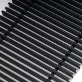 Решетка дюралюминиевая для конвектора FanCOil (фанкойл) 170мм