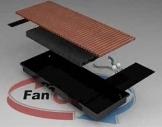 Конвектор FanCOil (фанкойл) FC 09 Plus mini