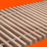 Решетка деревянная для конвектора FanCOil (фанкойл) 300мм